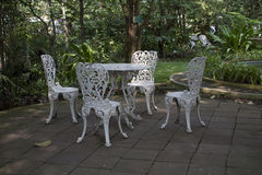 Λευκό καθισμάτων Στοκ Εικόνες