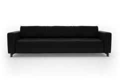 λευκό καναπέδων ανασκόπη&sig Στοκ Εικόνες