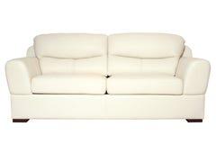λευκό καναπέδων Στοκ Φωτογραφία