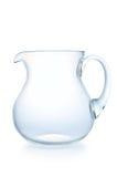 λευκό κανατών γυαλιού αν Στοκ Εικόνες