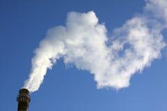 λευκό καπνού Στοκ φωτογραφίες με δικαίωμα ελεύθερης χρήσης