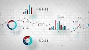 Λευκό καταδίωξης επιχειρησιακών στοιχείων απεικόνιση αποθεμάτων