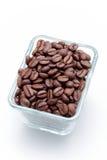 λευκό καφέ φασολιών ανασκόπησης Στοκ φωτογραφία με δικαίωμα ελεύθερης χρήσης