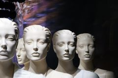 λευκό κεφαλιών Στοκ φωτογραφία με δικαίωμα ελεύθερης χρήσης