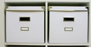 λευκό κιβωτίων Στοκ φωτογραφία με δικαίωμα ελεύθερης χρήσης