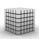 λευκό κιβωτίων Στοκ Φωτογραφία
