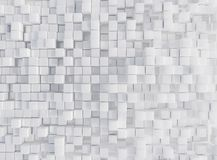 Λευκό, κιβώτια, τρισδιάστατη απεικόνιση renderingabstract, υπόβαθρο, ελεύθερη απεικόνιση δικαιώματος