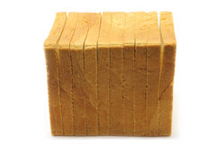 λευκό κομματιών ψωμιού Στοκ φωτογραφίες με δικαίωμα ελεύθερης χρήσης