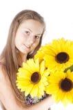 λευκό κοριτσιών ανασκόπησης στοκ φωτογραφίες με δικαίωμα ελεύθερης χρήσης