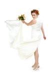 λευκό κοριτσιών φορεμάτ&omega στοκ φωτογραφίες με δικαίωμα ελεύθερης χρήσης