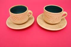 λευκό κουπών καφέ Στοκ φωτογραφία με δικαίωμα ελεύθερης χρήσης