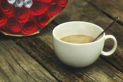 Λευκό κουπών καφέ Στοκ Φωτογραφία