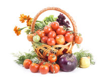 λευκό λαχανικών ανασκόπησης Στοκ φωτογραφίες με δικαίωμα ελεύθερης χρήσης