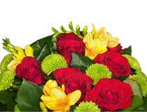 λευκό λουλουδιών δεσ& Στοκ Εικόνες