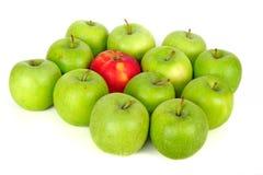 λευκό μήλων Στοκ Εικόνα