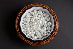 λευκό μαργαριταριών Στοκ εικόνα με δικαίωμα ελεύθερης χρήσης