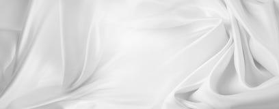 λευκό μεταξιού Στοκ εικόνες με δικαίωμα ελεύθερης χρήσης
