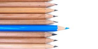 λευκό μολυβιών ανασκόπησης Στοκ Εικόνες