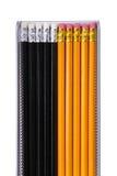 λευκό μολυβιών ανασκόπη&sigm Στοκ εικόνα με δικαίωμα ελεύθερης χρήσης