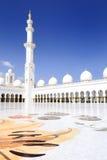 λευκό μουσουλμανικών τεμενών Στοκ Εικόνες