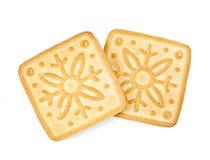 λευκό μπισκότων Στοκ Εικόνες