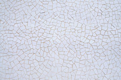 λευκό μωσαϊκών ανασκόπηση&s Στοκ Φωτογραφία