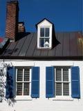 λευκό οικογενειακών κατοικιών Στοκ Εικόνες