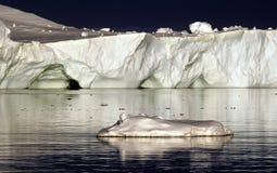 λευκό πάγου Στοκ εικόνα με δικαίωμα ελεύθερης χρήσης