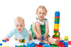 λευκό πατωμάτων ομάδων δεδομένων μωρών στοκ εικόνες