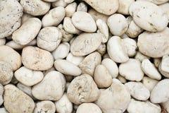 λευκό πετρών ανασκόπησης Στοκ φωτογραφία με δικαίωμα ελεύθερης χρήσης