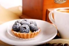 λευκό πιάτων μπισκότων Στοκ Φωτογραφίες