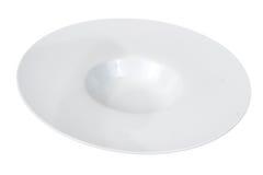 λευκό πιάτων Στοκ Φωτογραφίες