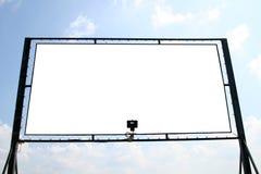 λευκό πινάκων διαφημίσεων Στοκ Εικόνες