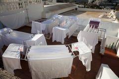 λευκό πλυντηρίων ξήρανσης στοκ εικόνες