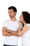 λευκό πουκάμισων τ ζευ&gamma Στοκ φωτογραφία με δικαίωμα ελεύθερης χρήσης