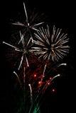 λευκό πυροτεχνημάτων φινά&l στοκ εικόνες με δικαίωμα ελεύθερης χρήσης