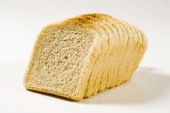 λευκό σάντουιτς ψωμιού Στοκ Εικόνα