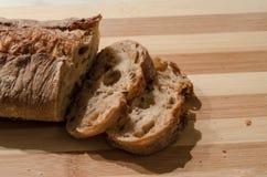 λευκό σίκαλης απομόνωσης ψωμιού Στοκ φωτογραφία με δικαίωμα ελεύθερης χρήσης