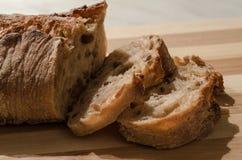 λευκό σίκαλης απομόνωσης ψωμιού Στοκ Φωτογραφίες