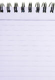 λευκό σημειώσεων γραμμών στοκ εικόνες με δικαίωμα ελεύθερης χρήσης