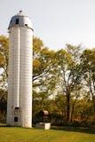 λευκό σιλό Στοκ φωτογραφία με δικαίωμα ελεύθερης χρήσης