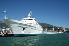 λευκό σκαφών Στοκ Φωτογραφία