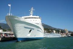 λευκό σκαφών Στοκ εικόνες με δικαίωμα ελεύθερης χρήσης