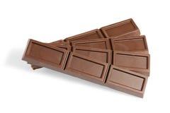 λευκό σοκολάτας ράβδων &a Στοκ Εικόνες