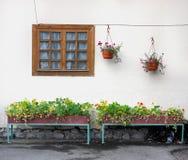 λευκό σπιτιών Στοκ εικόνες με δικαίωμα ελεύθερης χρήσης