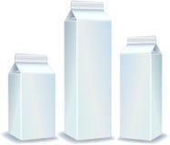 λευκό συσκευασιών απεικόνιση αποθεμάτων