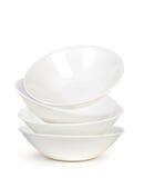 λευκό σφαιρών πιάτων επικαλύψεων επιπλεόντων σωμάτων πιάτων Στοκ φωτογραφίες με δικαίωμα ελεύθερης χρήσης