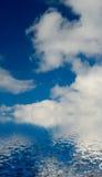 λευκό σύννεφων Στοκ Εικόνες