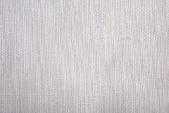λευκό σύστασης λιναριού Στοκ Εικόνες