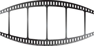 λευκό ταινιών διόγκωσης Στοκ Εικόνα